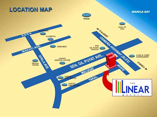 The-Linear-Makati-Location-Map